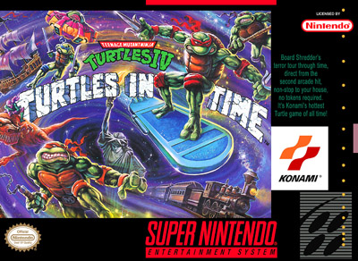 Teenage Mutant Ninja Turtles IV: Turtles in Time rom